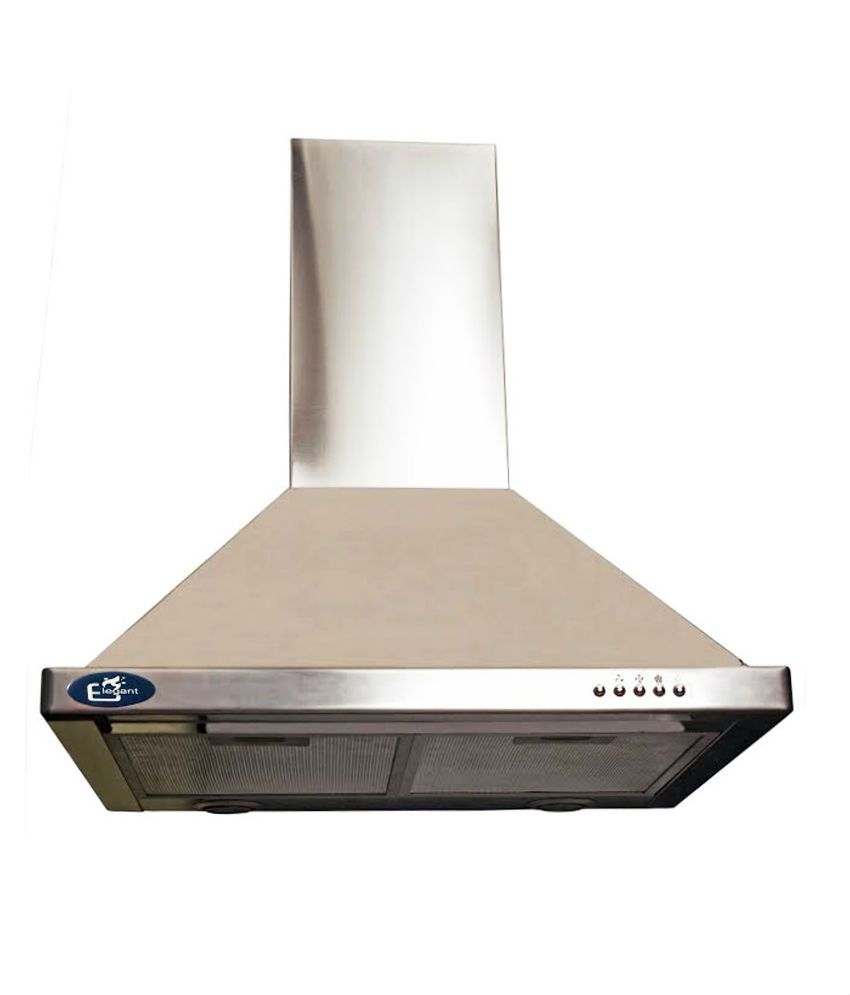 Elegant ELE-1002 Cushion Hood Chimney- Steel