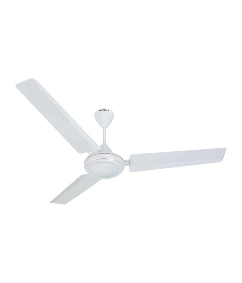 Havells 1200 Mm Es 50 Premium Ceiling Fan White Price In