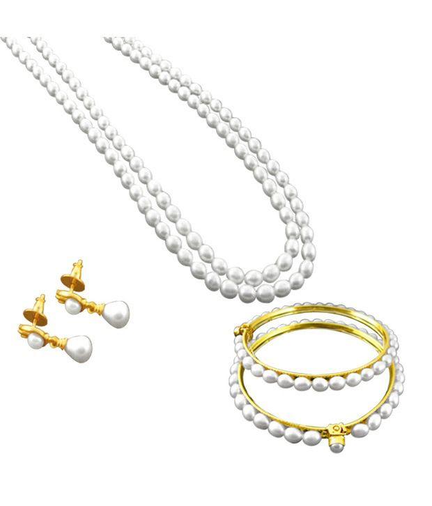JPearls Bandhan Pearl Set