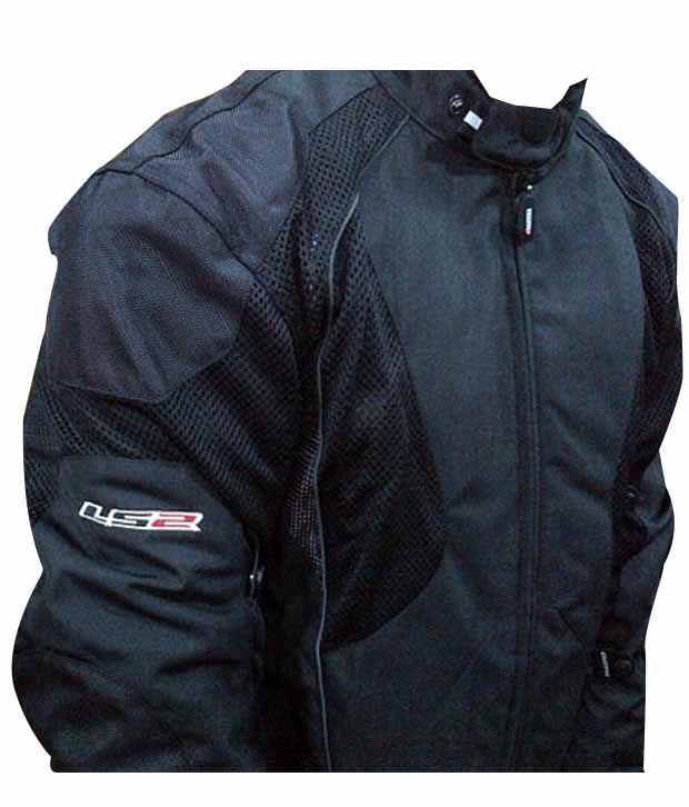 Ls2 Biker Jacket Mesh Black Buy Ls2 Biker Jacket Mesh