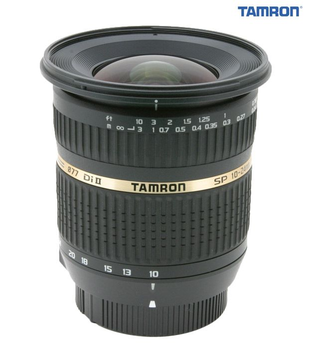 Tamron B001 SP AF 10-24 mm  F/3.5-4.5 Di-II LD Aspherical (IF)  (for Canon) Lens