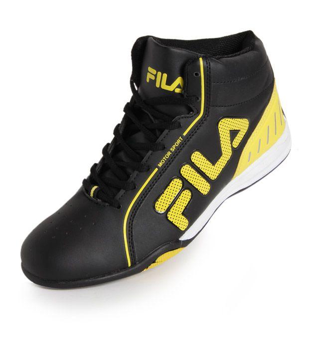 18d69f829a930e Fila Black Smart Casuals Shoes Art FISONZO168201 Fila Black Smart Casuals  Shoes Art FISONZO168201 ...