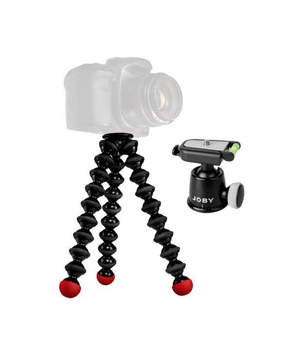 Joby GorillaPod SLR Zoom & Ball  Head Bundle (Black/ Red)