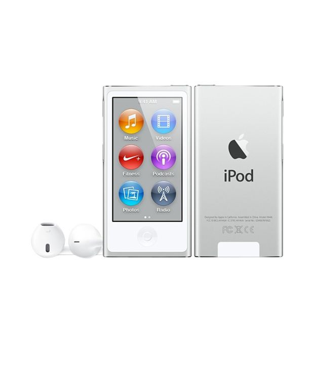 Apple iPod Nano 16GB Silver (7th Generation)