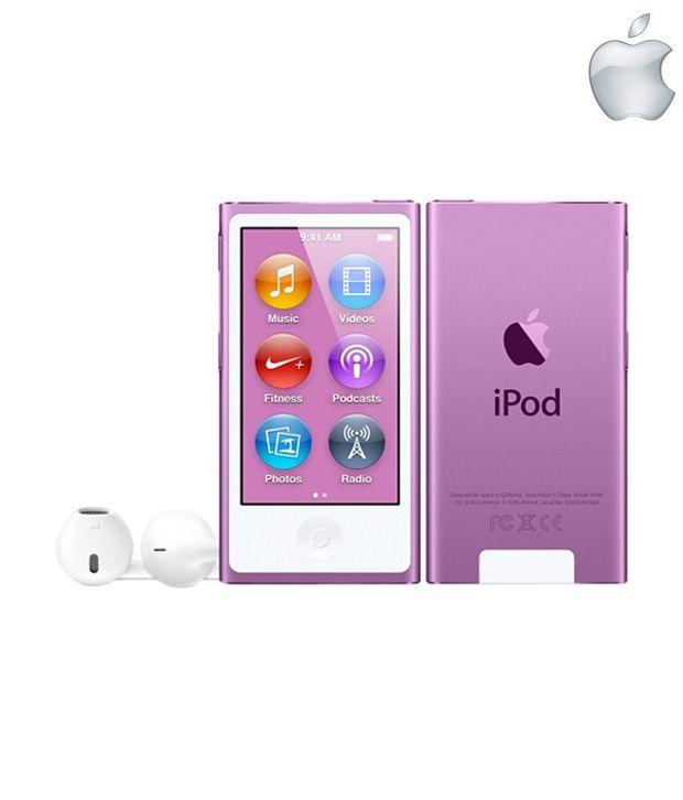 Apple iPod Nano 16GB Purple (7th Generation)