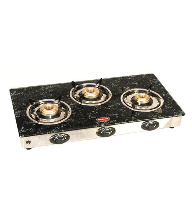 Padmini Garnet CS-3GT 3 Burner Gas Cooktop
