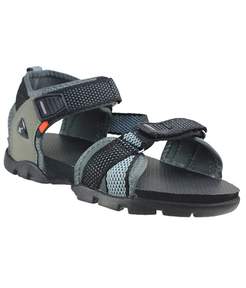 Sparx Ssb105 Blackgrey Boys Sandals Price In India Buy