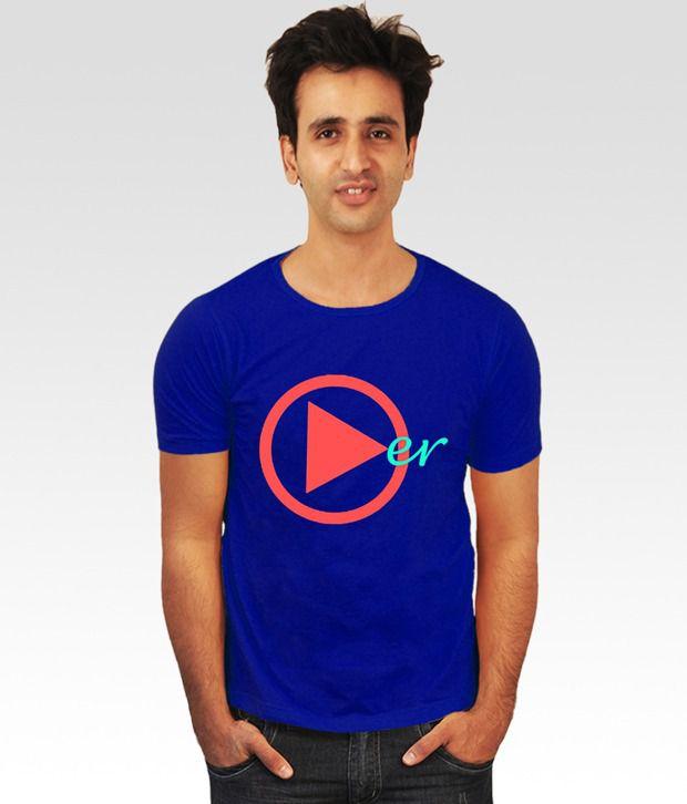 Incynk Blue Play-er T-Shirt