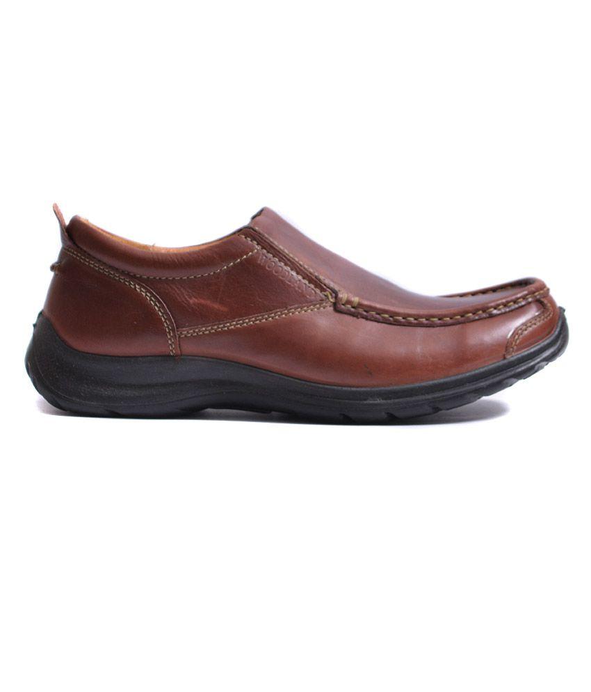 b16e6c7b76 Woodland Brown Smart Casuals & Slip-on Shoes Art GC1072111BRN - Buy ...