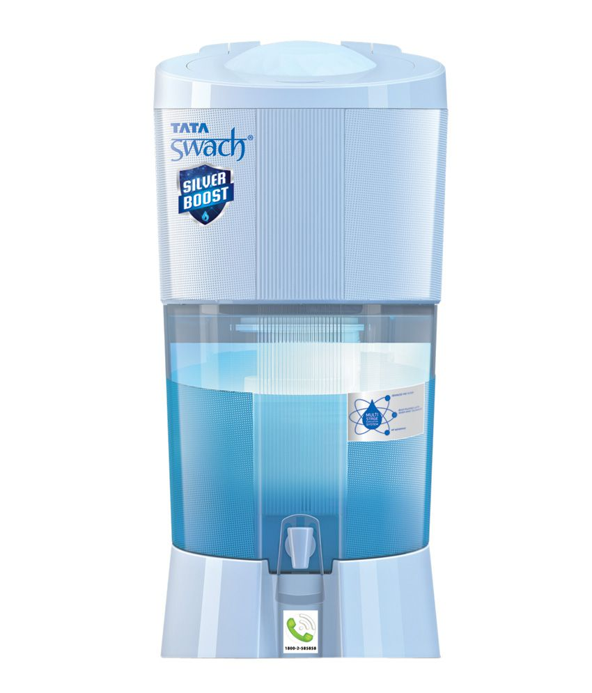 Tata Swach 27 Ltr Silver Boost Water Purifier