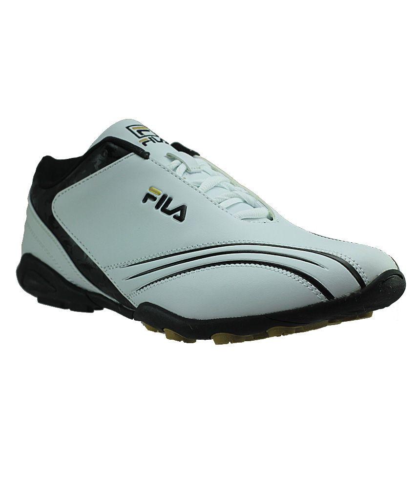 fila fldrake white black sports shoes price in india