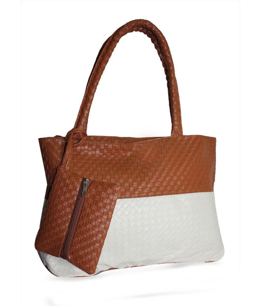 Moda Desire Multi-colour Remi Handbag With Zipper Pocket