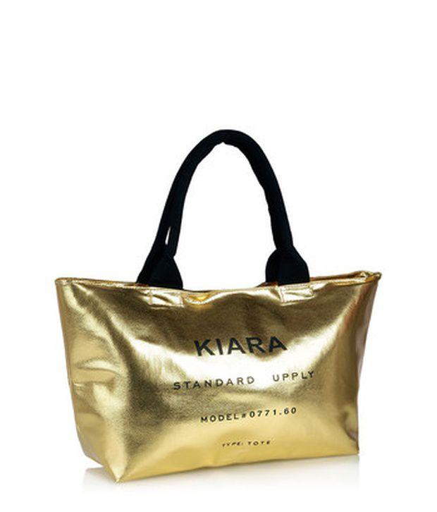 7c3df7de4b Kiara 10556-Golden Tote Bag