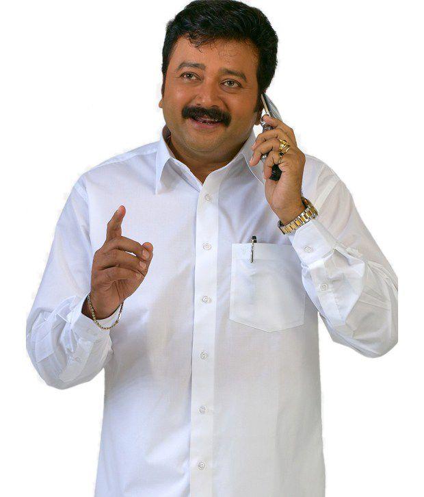 8fb31943 Ramraj Smart White Full Sleeve Shirt Ramraj Smart White Full Sleeve Shirt