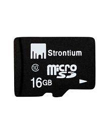 Strontium 16 GB Class 10 Micro SD Card