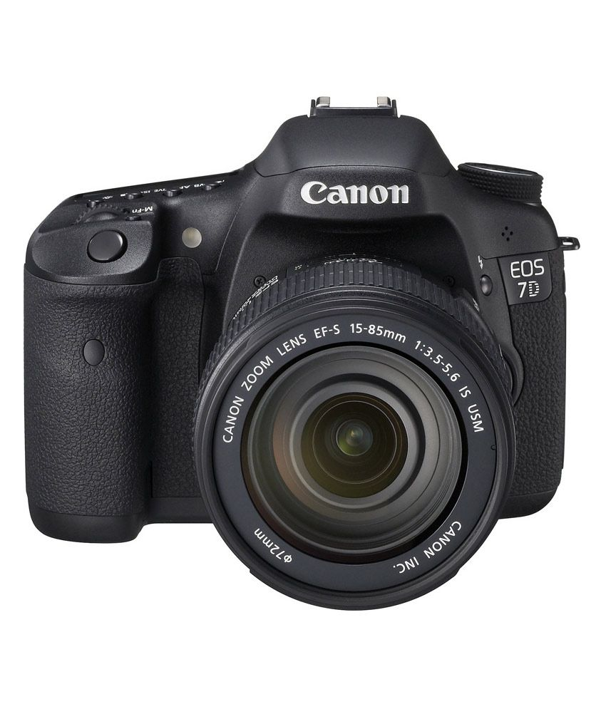 Canon EOS 7D with 18-85mm IS Lens
