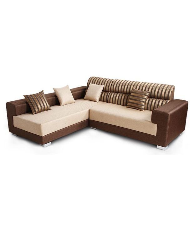 FurnitureKraft Clark Sofa 3 + Lounger ...