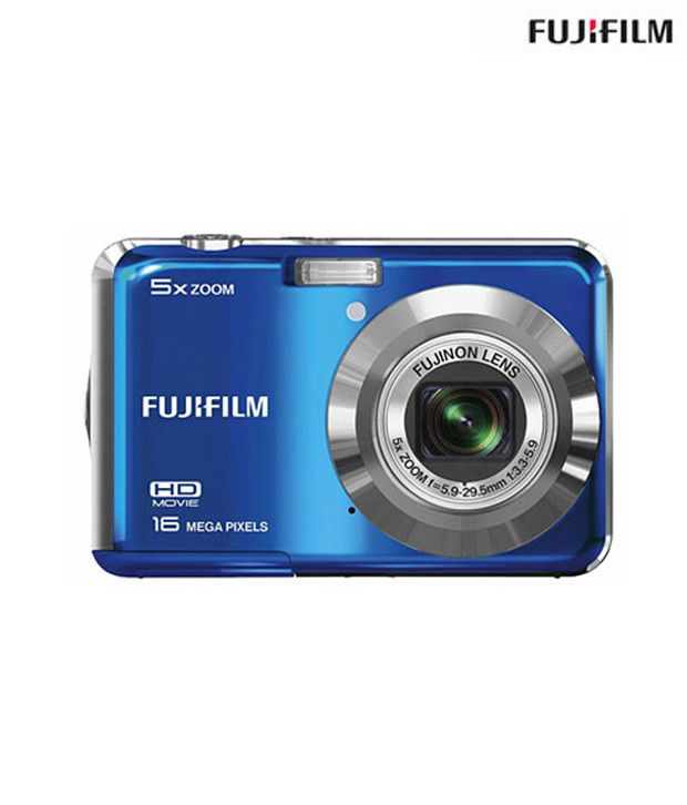 Fujifilm Finepix AX550 16 MP Digital Camera (Blue)