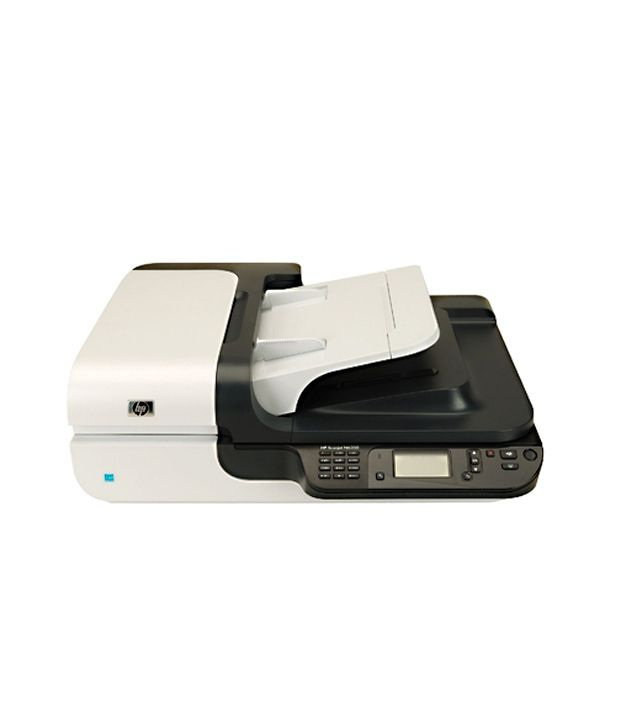 hp scanjet n6350 networked document flatbed scanner buy