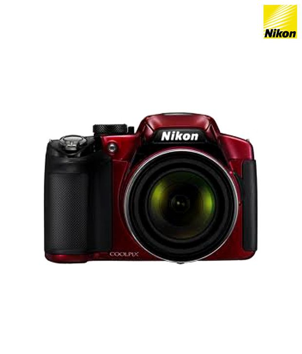 Nikon Coolpix P510 16.1MP Semi SLR (Red)