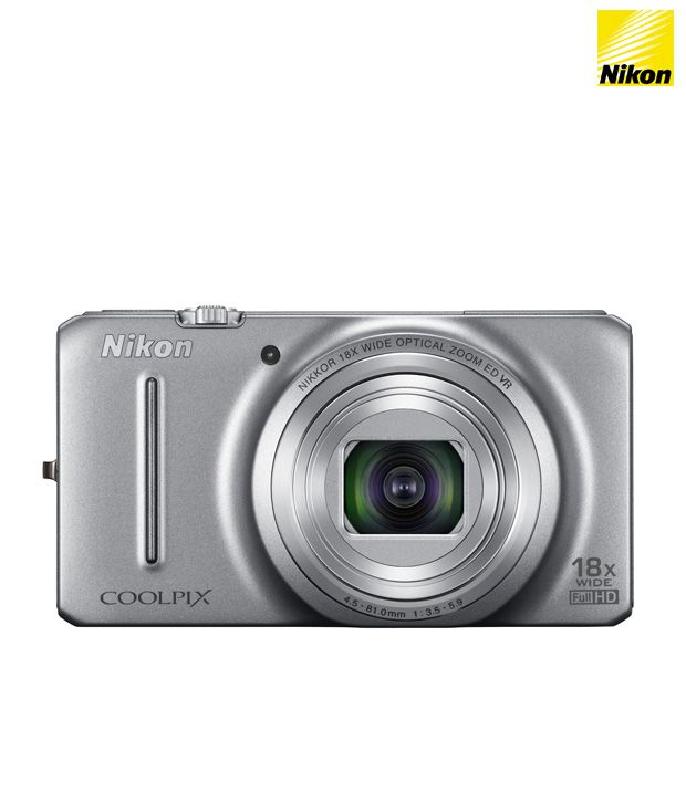 Nikon Coolpix S9200 16MP Digital Camera (Silver)