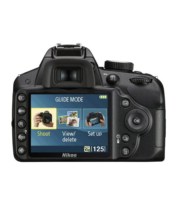 Nikon D3200 Digital SLR Camera with 18-55mm VR Lens Kit: Amazon.co ...