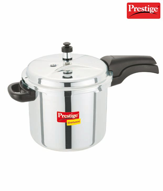 Prestige-Deluxe-Stainless-Steel-5.5-L-Pressure-Cooker-(Outer-Lid)