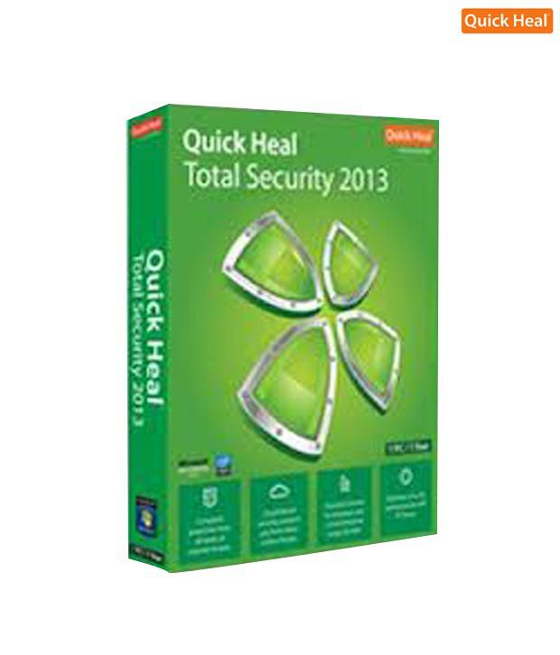 Quick Heal Total Security 2013 ( 3 / 3 ) CD