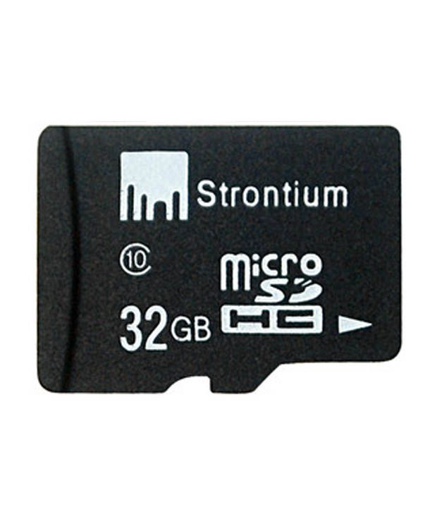 strontium 32 gb micro sd card class 10 memory cards online at low prices snapdeal india. Black Bedroom Furniture Sets. Home Design Ideas