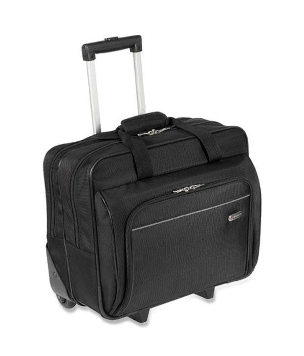 Targus Rolling Black Laptop Case For 16 Inch Laptop