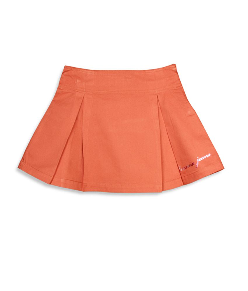 Unamia Preppy Pleats Skirt