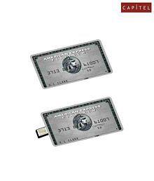 CAPITEL Credit Card 8GB USB 2.0 Utility Pendrive Pack of 1