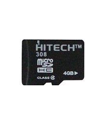 Hitech 4 gb Micro SDHC