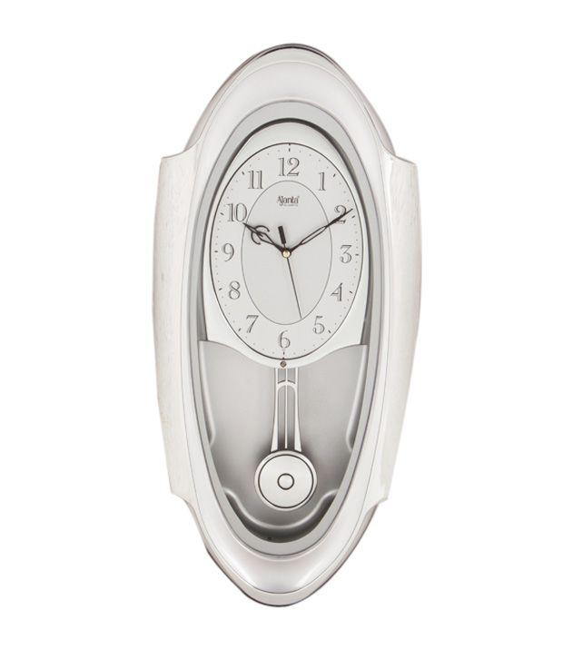 Ajanta Oval Pendulum Wall Clock