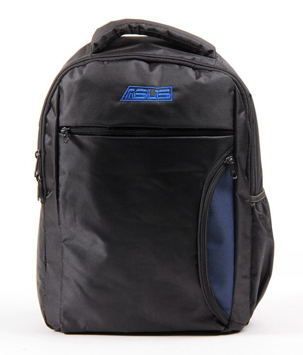Black Polyester Laptop Bag Manufactured For Asus Laptops