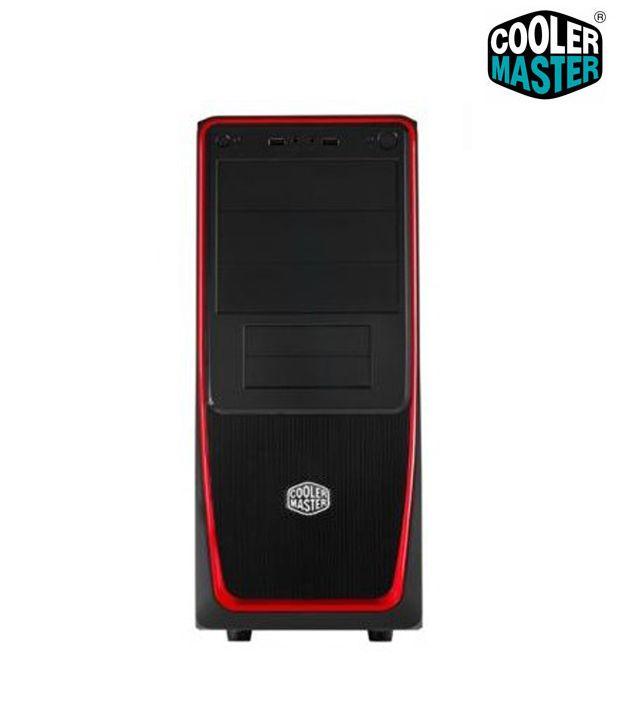 Cooler Master Elite 311 Cpu Cabinet Red Buy Cooler