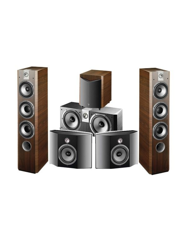Focal Chorus 726V with Chorus CC700V and Chorus SR 700V and Chorus SW 700V Speaker System