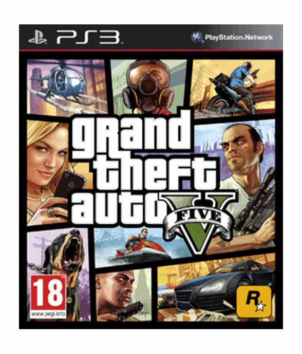 gta v ps3 available at snapdeal for. Black Bedroom Furniture Sets. Home Design Ideas