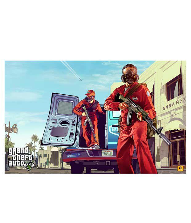 GTA V PS3 at snapdeal