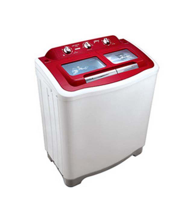 Godrej GWS 7002 7.0 KG Toughned Glass Red Washing Machine