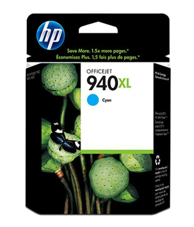 HP 940XL Cyan Officejet Ink Cartridge