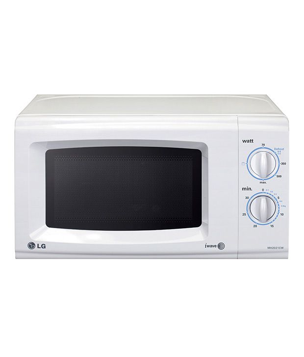 Lg 20 Ltrs Mh2021cw Microwave Oven Grill Ovenwhite