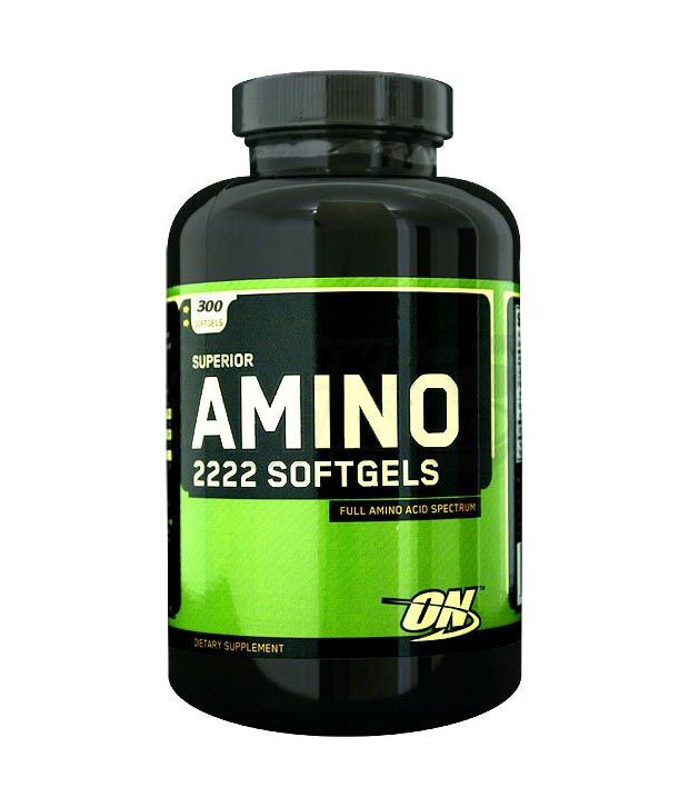 ON Amino 2222 - 300 Softgels: Buy ON Amino 2222 - 300 ...