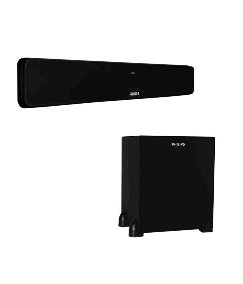 95f6ee71e60 Buy Philips DSP475U Soundbar (with Wired Subwoofer) Online at Best Price in  India - Snapdeal