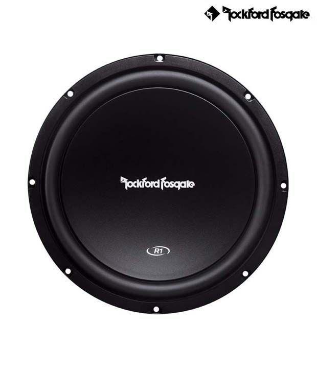 Rockford Fosgate - Prime Series -  R1S412 - 12'' 4-Ohm SVC  Subwoofer