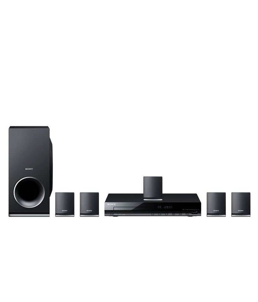 buy sony dav tz145 5 1 dvd home theatre system online at. Black Bedroom Furniture Sets. Home Design Ideas
