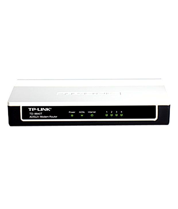 TP-Link 10/100 Mbps Ethernet ADSL2+ Router