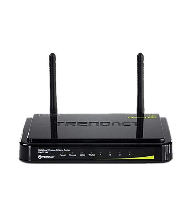TrendNET 300 Mbps N300 Wireless Home Router (TEW-731BR)Wireless Routers Without Modem