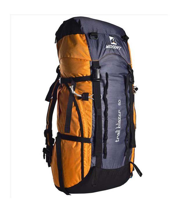 beb4699ee2 Wildcraft Trailblazer Orange   Black Backpack - Buy Wildcraft Trailblazer  Orange   Black Backpack Online at Low Price - Snapdeal