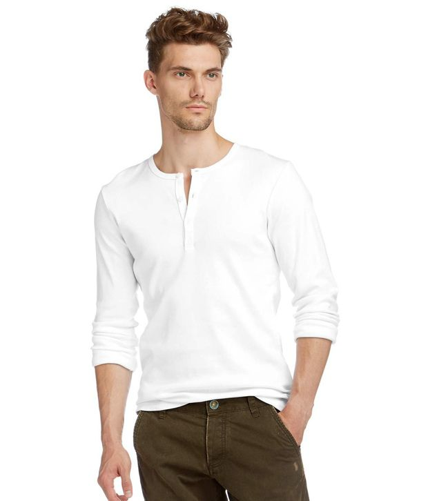 btr white henley t shirt buy btr white henley t shirt